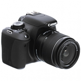 Canon EOS 600D SLR-Digitalkamera (18 Megapixel, 7,6 cm (3 Zoll) schwenkbares Display, Full HD) Kit inkl. EF-S 18-55mm 1:3,5-5,6 IS II - 1