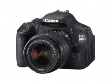 Canon EOS 600D SLR-Digitalkamera (18 Megapixel, 7,6 cm (3 Zoll) schwenkbares Display, Full HD) Kit inkl. EF-S 18-55mm 1:3,5-5,6 IS II - 2