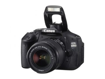 Canon EOS 600D SLR-Digitalkamera (18 Megapixel, 7,6 cm (3 Zoll) schwenkbares Display, Full HD) Kit inkl. EF-S 18-55mm 1:3,5-5,6 IS II - 8
