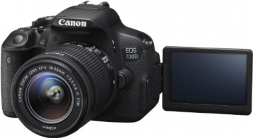 Canon EOS 700D SLR-Digitalkamera (18 Megapixel, 7,6 cm (3 Zoll) Touchscreen, Full HD, Live-View) Kit inkl. EF-S 18-55mm 1:3,5-5,6 IS STM - 6