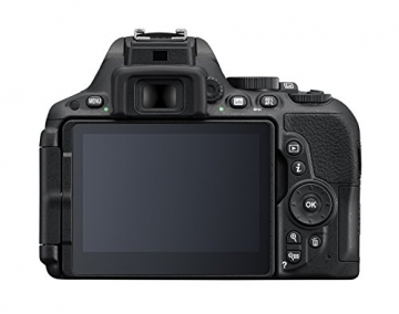 Nikon D5500 SLR-Digitalkamera (24 Megapixel, 8,1 cm (3,2 Zoll) Touchscreen-Display, bildstabilisiert, Full-HD-Video, Wi-Fi) Kit inkl. 18-55mm VR II Objektiv schwarz - 3