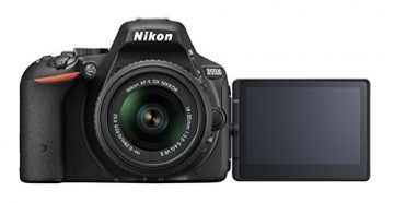 Nikon D5500 SLR-Digitalkamera (24 Megapixel, 8,1 cm (3,2 Zoll) Touchscreen-Display, bildstabilisiert, Full-HD-Video, Wi-Fi) Kit inkl. 18-55mm VR II Objektiv schwarz - 8