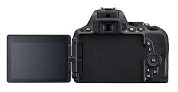 Nikon D5500 SLR-Digitalkamera (24 Megapixel, 8,1 cm (3,2 Zoll) Touchscreen-Display, bildstabilisiert, Full-HD-Video, Wi-Fi) Kit inkl. 18-55mm VR II Objektiv schwarz - 9
