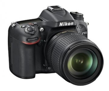 Nikon D7100 SLR-Digitalkamera (24 Megapixel, 8 cm (3,2 Zoll) TFT-Monitor, Full-HD-Video) Kit inkl. AF-S DX 18-105 mm 1:3,5-5,6G ED VR Objektiv schwarz - 3