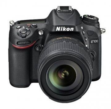 Nikon D7100 SLR-Digitalkamera (24 Megapixel, 8 cm (3,2 Zoll) TFT-Monitor, Full-HD-Video) Kit inkl. AF-S DX 18-105 mm 1:3,5-5,6G ED VR Objektiv schwarz - 4