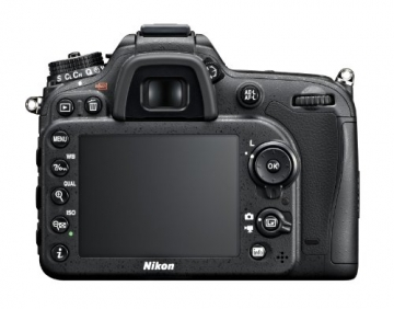 Nikon D7100 SLR-Digitalkamera (24 Megapixel, 8 cm (3,2 Zoll) TFT-Monitor, Full-HD-Video) Kit inkl. AF-S DX 18-105 mm 1:3,5-5,6G ED VR Objektiv schwarz - 5