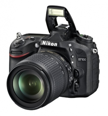 Nikon D7100 SLR-Digitalkamera (24 Megapixel, 8 cm (3,2 Zoll) TFT-Monitor, Full-HD-Video) Kit inkl. AF-S DX 18-105 mm 1:3,5-5,6G ED VR Objektiv schwarz - 8
